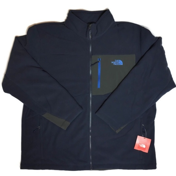 The North Face Other - The North Face Men Fleece Jacket Navy Blue XXL